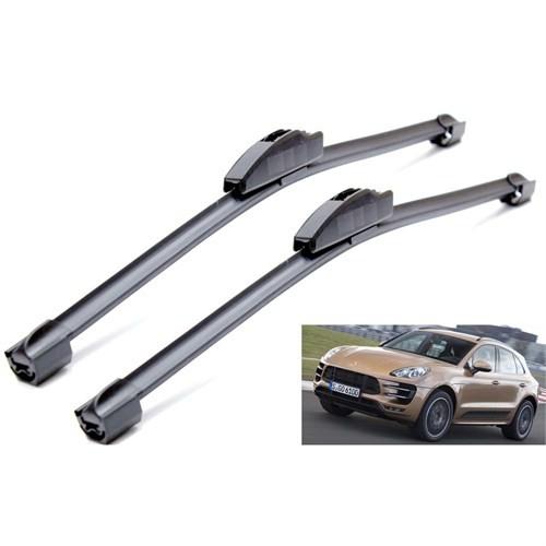 Silbak Porsche Macan 03.2014 >> Muz Silecek Sağ/Sol Set 104396