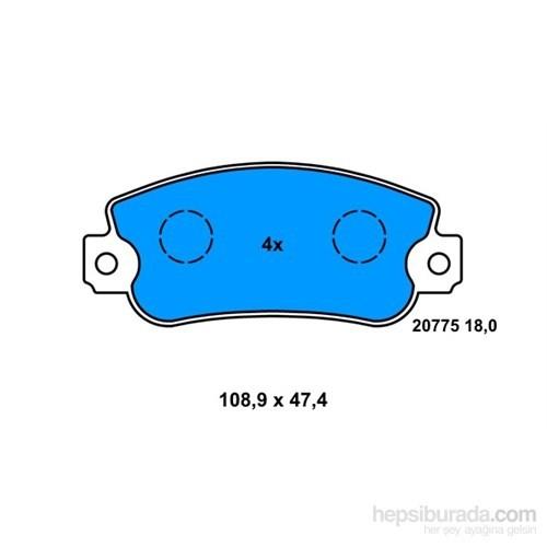 Bosch - Fren Balatası Ön (Fıat Uno Tempra) - Bsc 0 986 524 098