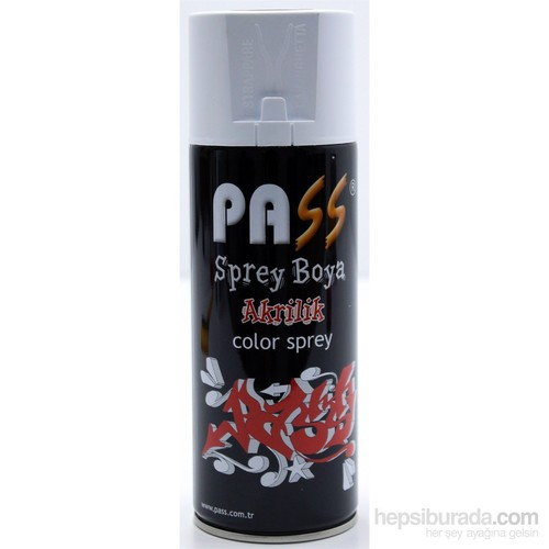 PASS 400 ml Sprey Boya 306 Gri 103830