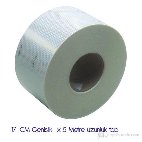 ModaCar PETEKLİ BEYAZ Fosfor 17 CM x 5 Metre