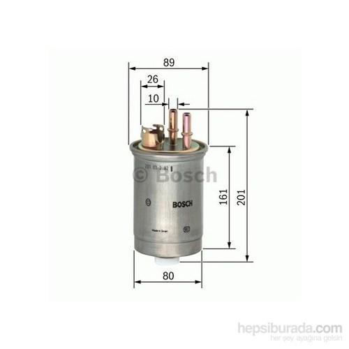 Bosch - Yakıt Filtresi ( Ford Focus 1,8 Tdci ) - Bsc 0 450 906 376
