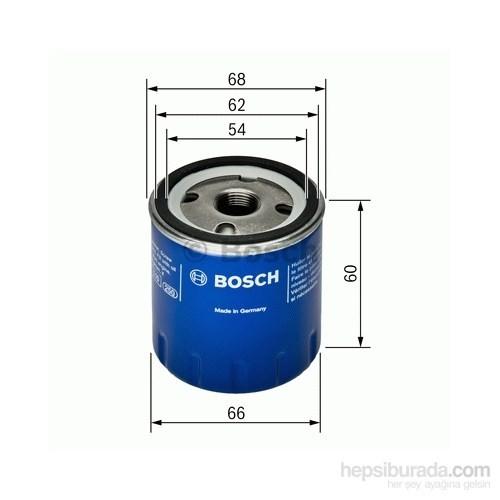 Bosch - Yağ Filtresi (Renault Clıo 1.2I 16V (01.2002- ) - Bsc 0 451 104 025