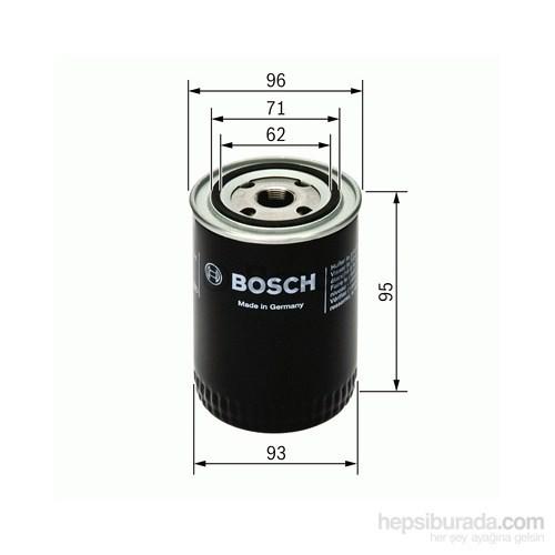 Bosch - Yağ Filtresi (Skoda Favorıt 135 1.3) - Bsc 0 451 203 154
