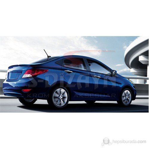 S-Dizayn Hyundai Accent Blue (Solaris)Kapı Kolu 4 Kapı P.Çelik (2011>)