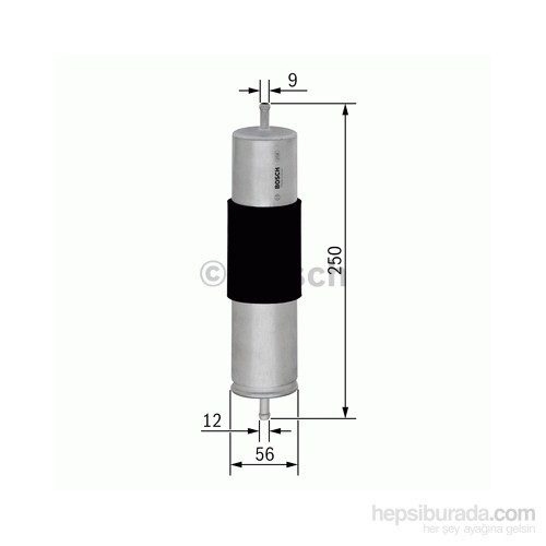 Bosch - Yakıt Filtresi Audi A4 A5 A8 Q5 2.0 2.7 Tdi 2008> - Bsc F 026 402 068