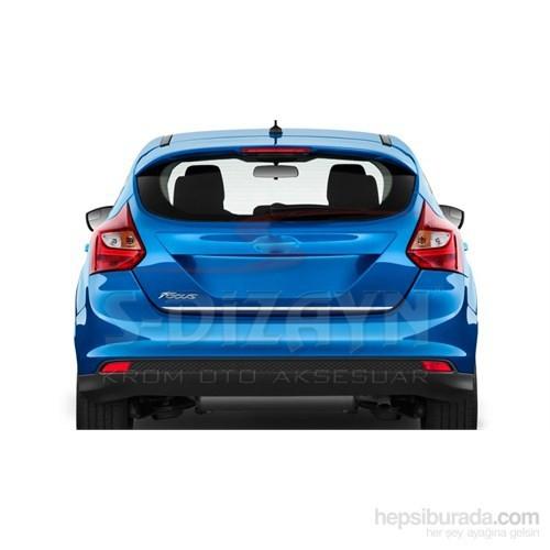 S-Dizayn Ford Focus 2011> Model Ve Üzeri Bagaj Alt Çıta Krom P.Çelik(Hb)