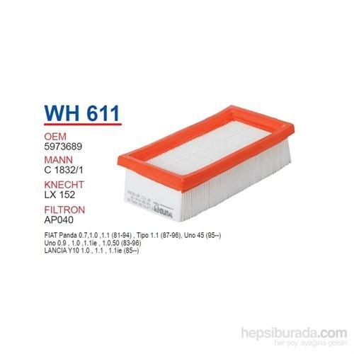 Wunder FIAT UNO 45 - 60 1100 MOTOR Hava Filtresi OEM NO: 5973689