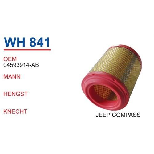 Wunder Jeep Compass Hava Filtresi Oem No:04593914-Ab