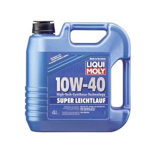 LIQUI MOLY SUPER LEICHTLAUF 10W-40 Kısmi Sentetik Motor Yağı