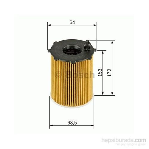 Bosch - Yağ Filtresi X 3 2.0 D 09.2007-08.2008 - Bsc F 026 407 072