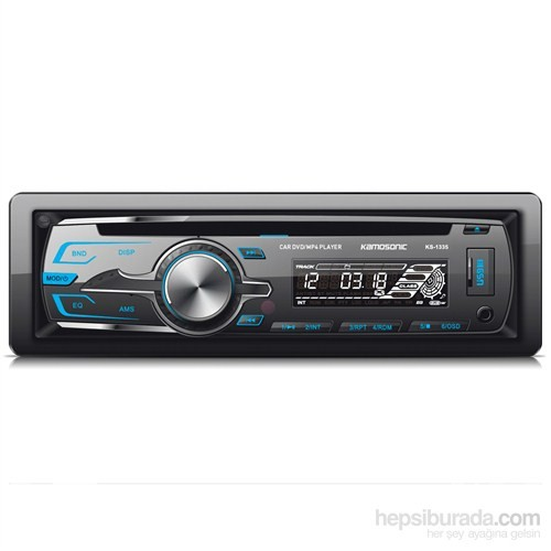 Kamosonic KS-1335 DVD-MP3-MP4-USB-SD 4x50W Oto Teyp
