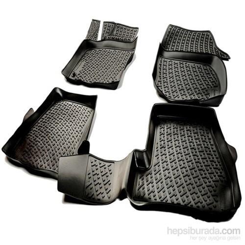 L.Locker Mercedes E Serisi W212 2010 Sonrası 3D Havuzlu Paspas