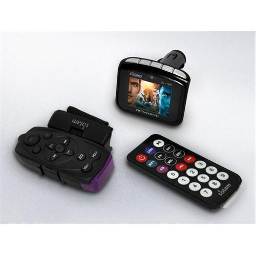 Solam SL-198 1,8'Inc Renkli Ekranlı 2 Gb Hafızalı MP4-MP3 Fm Transmitter+Direksiyon Kumandası