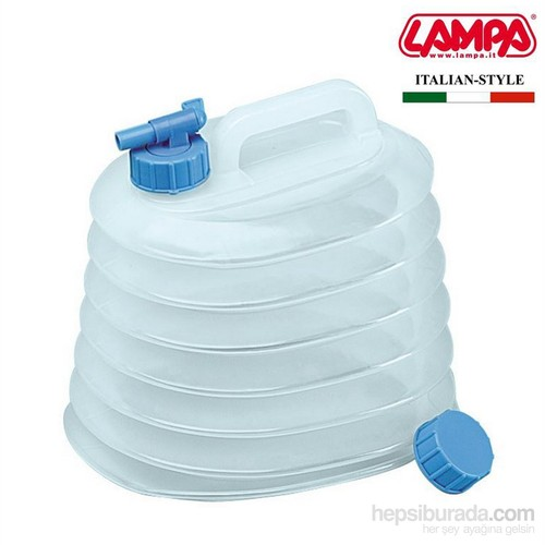 Lampa Tanky 5 lt. Körüklü Musluklu Sıvı Bidonu