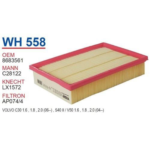 Wunder VOLVO S40 Hava Filtresi OEM NO:8683561