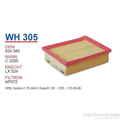 Wunder OPEL COMBO B 1.7 DiESEL - CORSA B Hava Filtresi OEM NO: 834585
