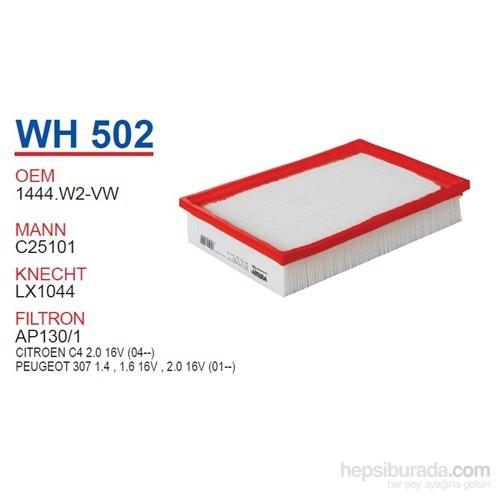 Wunder PEUGEOT 307 2.0 HDI 2001-TU5JP5 MOTOR Hava Filtresi OEM NO:1444.W2-VW