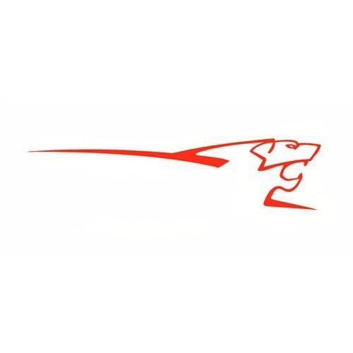 Z tech Le Mans Stickerı Kırmızı 25 x 7 cm