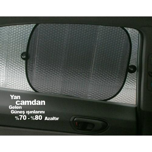 Automix Yan Cam Güneşlik