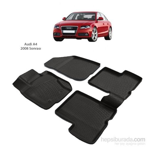 Audi A4 (2008 Ve Sonrası) 3D Paspas