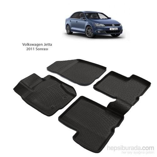Volkswagen Jetta (2011 Ve Sonrası) 3D Paspas