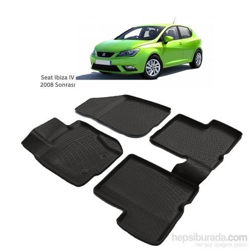 Seat Ibiza Iv 3D Havuzlu Paspas (2008 Ve Sonrası)