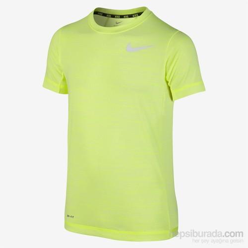 Nike 641601-702 Df Cool Ss Top Yth Çocuk T-Shirt