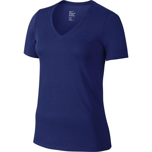 Nike Tee-Vneck Embrd Swoosh Kadın Tişört 704298-455