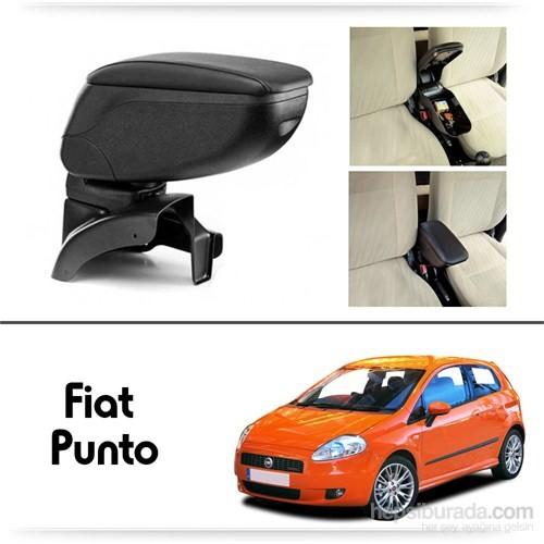 Schwer Fiat Grand Punto Koltuk Arası SİYAH Kol Dayama Kolçağı-8414
