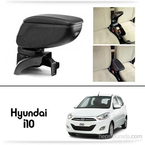 Schwer Hyundai i10 Koltuk Arası SİYAH Kol Dayama Kolçağı-8427