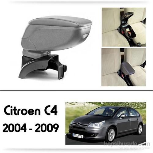Schwer Citroen C4 2004-2009 Koltuk Arası GRİ Kol Dayama Kolçağı-8457