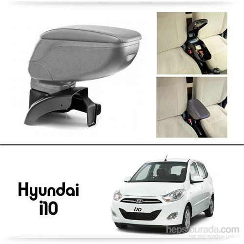 Schwer Hyundai Getz Koltuk Arası GRİ Kol Dayama Kolçağı-8474