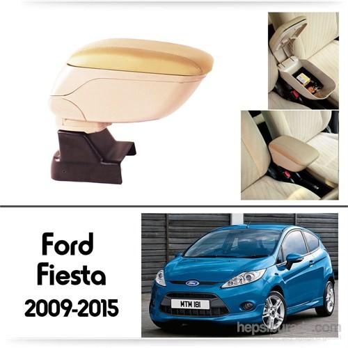 Schwer Ford Fiesta 2009-2015 Koltuk Arası BEJ Kol Dayama Kolçağı-8514