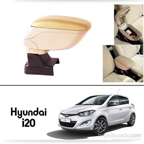 Schwer Hyundai i20 Koltuk Arası BEJ Kol Dayama Kolçağı-8524