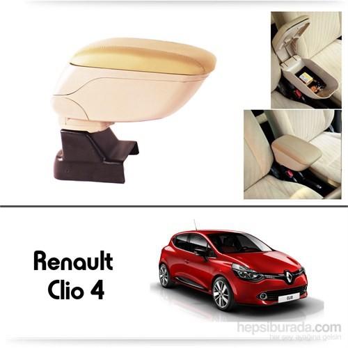 Schwer Renault Clio 4 Koltuk Arası BEJ Kol Dayama Kolçağı-8540