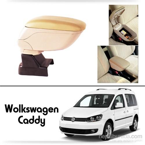Schwer Volkwagen Caddy Koltuk Arası BEJ Kol Dayama Kolçağı-8546