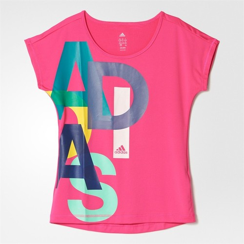 Adidas Ak2056 Yg W F Logo Tee Kız Çocuk Tişört