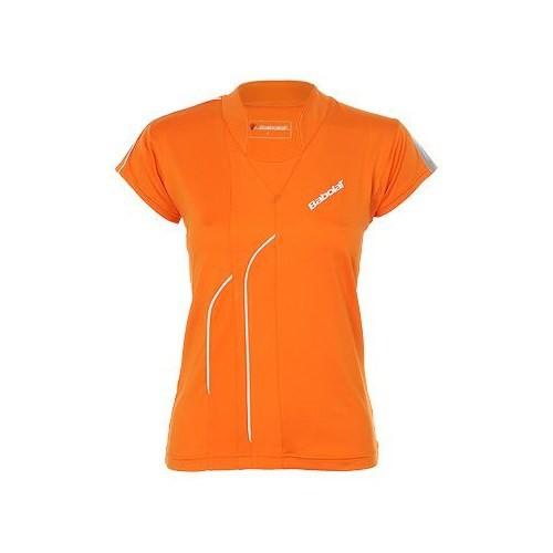 Babolat Polo Club Women Orange Kadın Tenis Kıyafeti