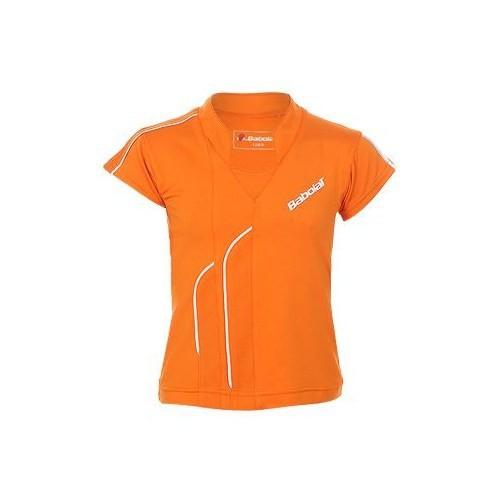 Babolat Polo Club Girl Orange Kız Jr Kıyafeti