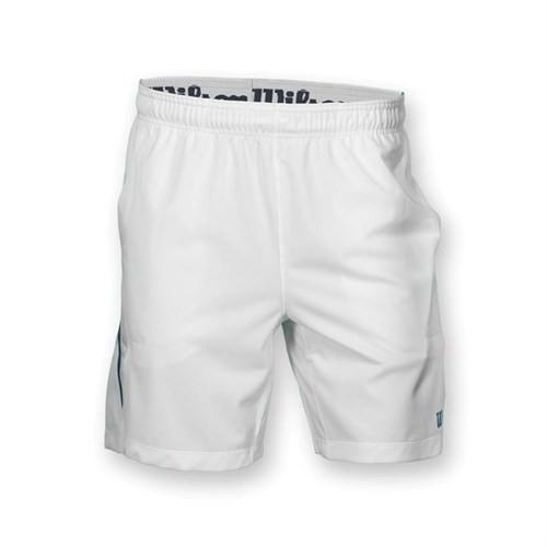 Wilson Colorblock 8 Inch Short White Erkek Tenis Kıyafeti