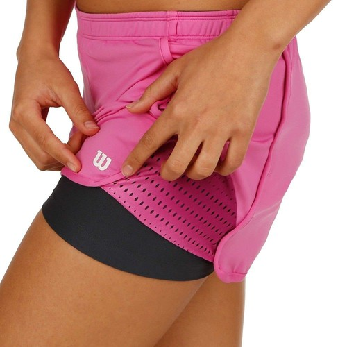 Wilson Summer Colorflight Knit 2,5'' Short Kadın Tenis Kıyafeti