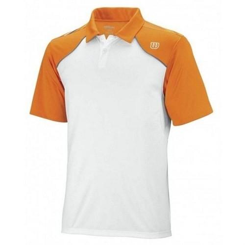 Wilson Well Equipped Crew Basic Polo Orange Erkek Tenis Kıyafeti