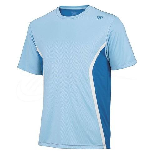 Wilson Claim Victory Crew Clear/Blue Erkek Tenis Kıyafeti