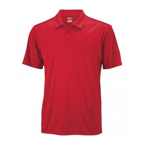Wilson Solana Polo Terra Red Erkek Tenis Kıyafeti