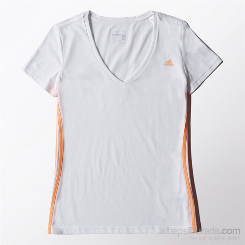 Adidas Kadın T-Shirt Ess Mid 3Stee S88577