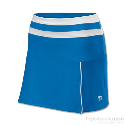 Wilson Team Skırt Blue Kadın Tenis Kıyafeti