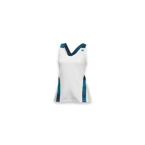 Wilson Colorflight V Neck Tank Kadın Tenis Kıyafeti