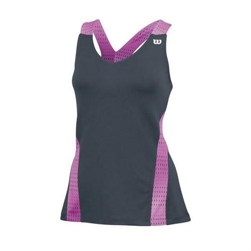 Wilson Colorfling V Neck Tank Kadın Tenis Kıyafeti