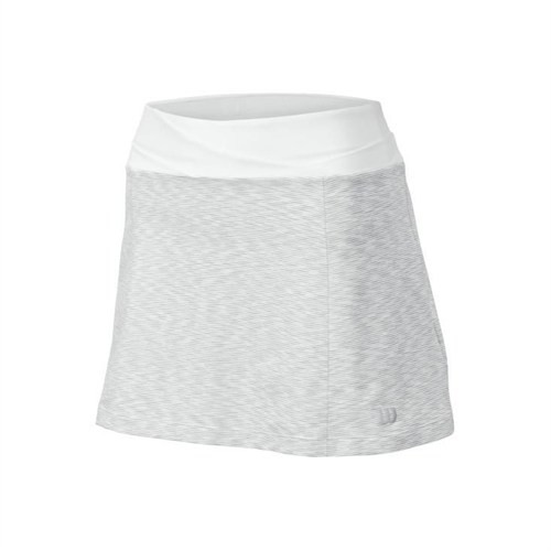 Wilson Striated 13.5 İnch Skirt White Tenis Eteği