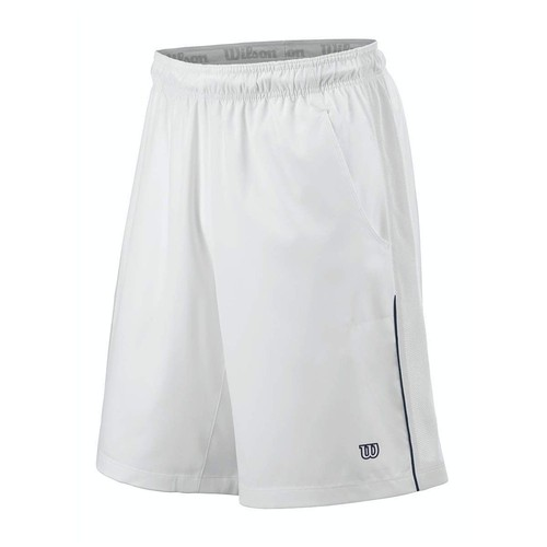 Wilson Cardiff Colourblock 10' Men's Tennis Short White Erkek Tenis Kıyafeti